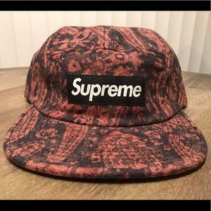 SUPREME UK Liberty fabric SnapBack cap